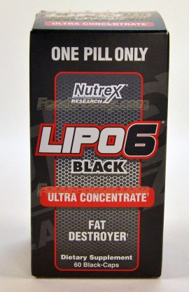 Lipo-6 Black Ultra Concentrate - 60 капс