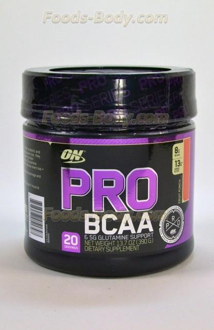 PRO BCAA Glutamine Support 390 грамм