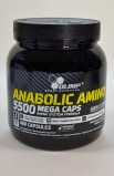 Anabolic AMINO 5500 mega caps - 400 капсул (банка)