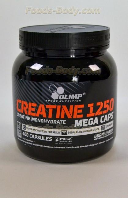 Creatine Mega 1250 400 капс