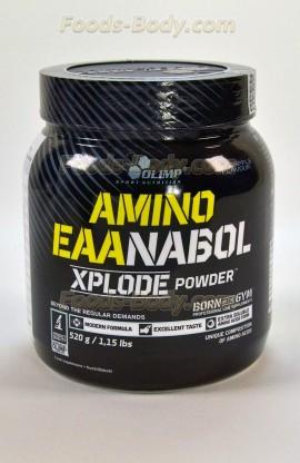 Amino EAAnabol Xplode powder - 520 грамм