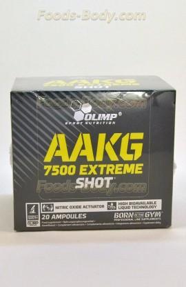 AAKG 7500 extreme shot - 20 ампул