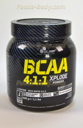 BCAA 4:1:1 Xplode Powder 500 грамм