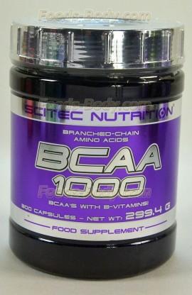 BCAA 1000 - 300 капсул