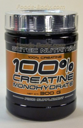 100% PURE CREATINE MONOHYDRATE - 300 грамм