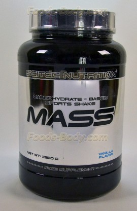 MASS - 2250 грамм