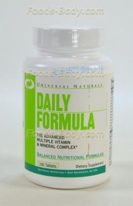 Daily Formula, 100 таб