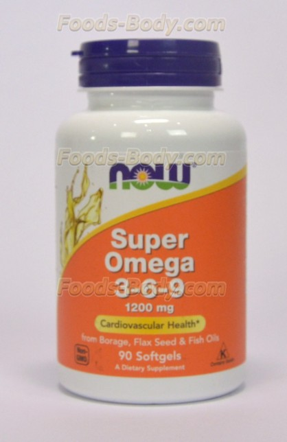 Super Omega 3-6-9 1200 mg 90 Softgels