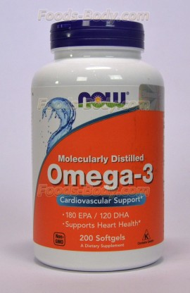 Omega-3 200 Softgels