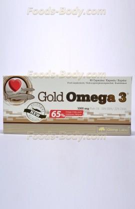 Gold Omega 3 - 60 капсул