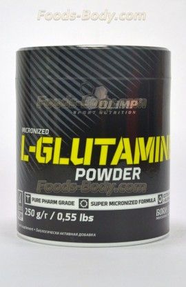 L-Glutamine Powder 250 грамм