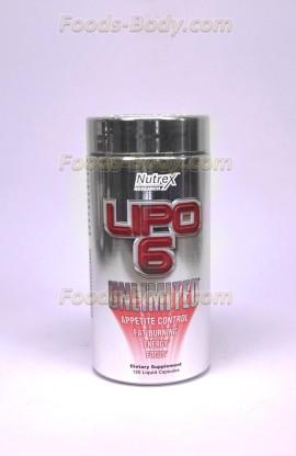 Lipo-6 Unlimited 120 капс