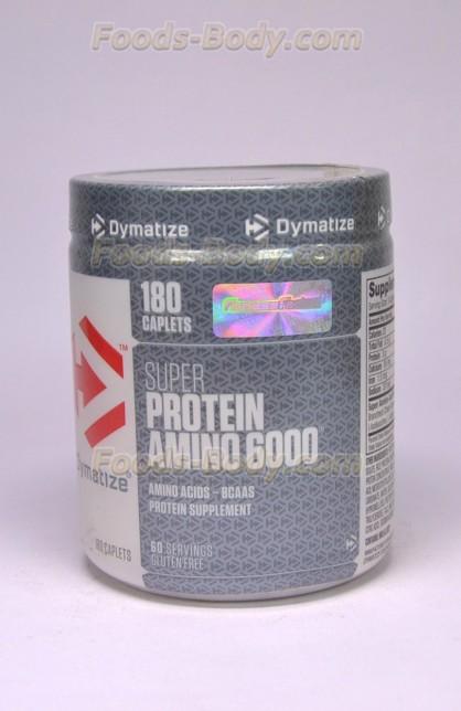 Super Amino 6000 - 180 капс