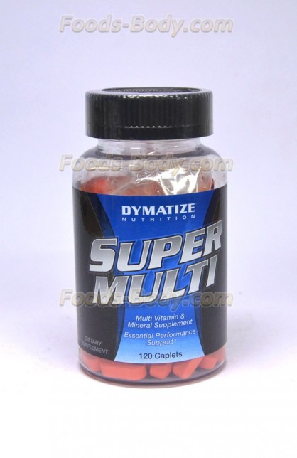 Super Multi Vitamin 120 таб