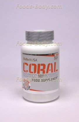 Coral Calcium Magnesium 100 таб