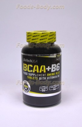 BCAA + B6 100 таб