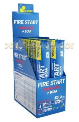 Fire Start Energy Gel+BCAA  20 пакетов